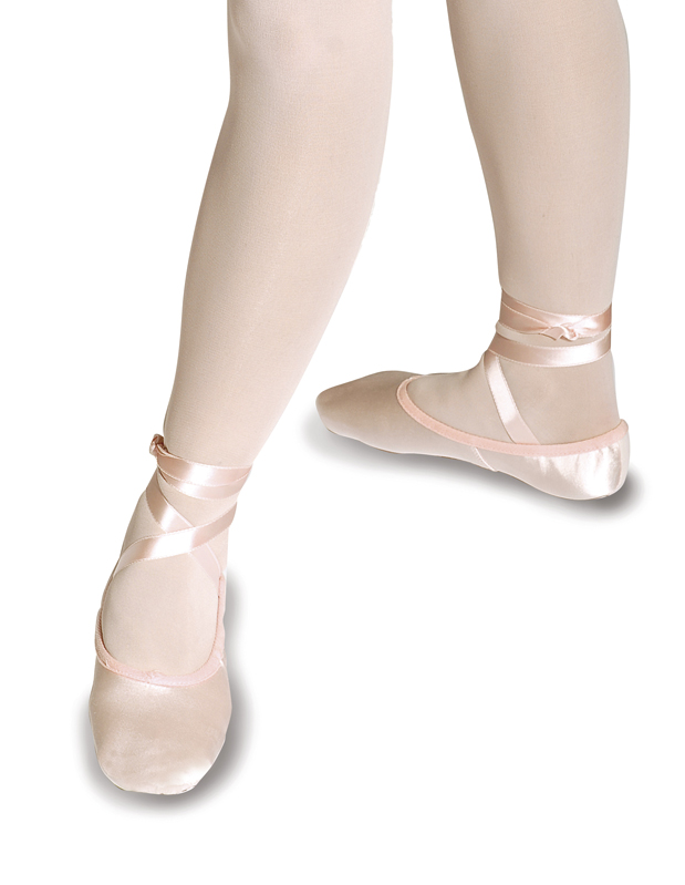 dfb151779416 Roch Valley 2SS S PINK Split sole satin ballet shoes .