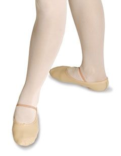 Wide Fit Split Sole Ballet Shoe
